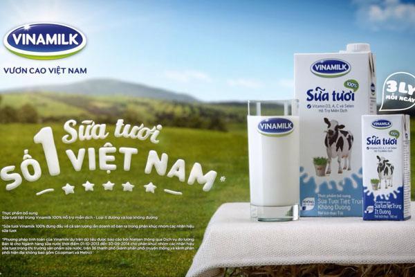 Sữa tươi Vinamilk giàu canxi, vitamin và khoáng chất - Ảnh 1