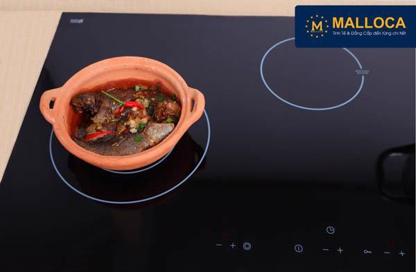 Bếp điện từ Malloca: sản phẩm với thiết kế hoàn hảo - Ảnh 1