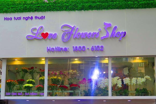 Hoa tươi nghệ thuật ở Love Flowers Shop - Ảnh 1