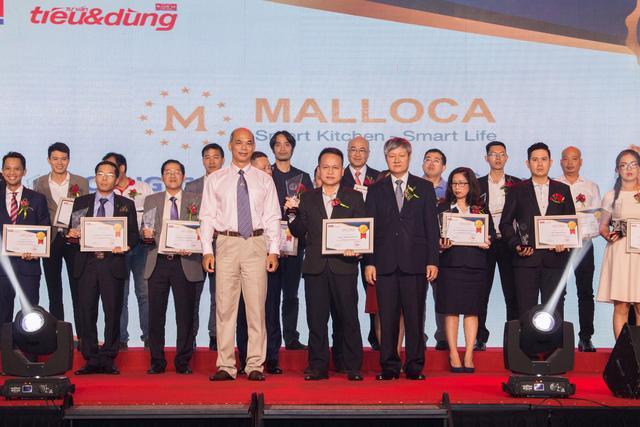 Malloca Việt Nam vinh dự nhận giải thưởng Top 100 Sản phẩm – dịch vụ Tin & Dùng Việt Nam 2017 - Ảnh 1.