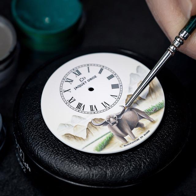 Jaquet Droz giới thiệu phiên bản đồng hồ giới hạn cho năm Tân Sửu - Ảnh 2.
