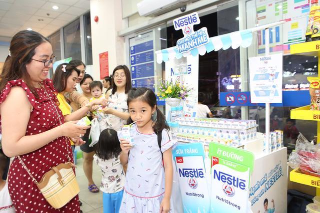 Nestlé Việt Nam giới thiệu sữa nước ít đường - Ảnh 1.