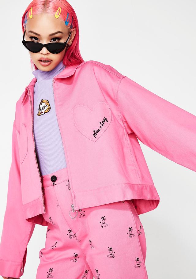 10 chiếc áo khoác màu hồng sẽ làm bừng sáng mùa đông - Ảnh 8.