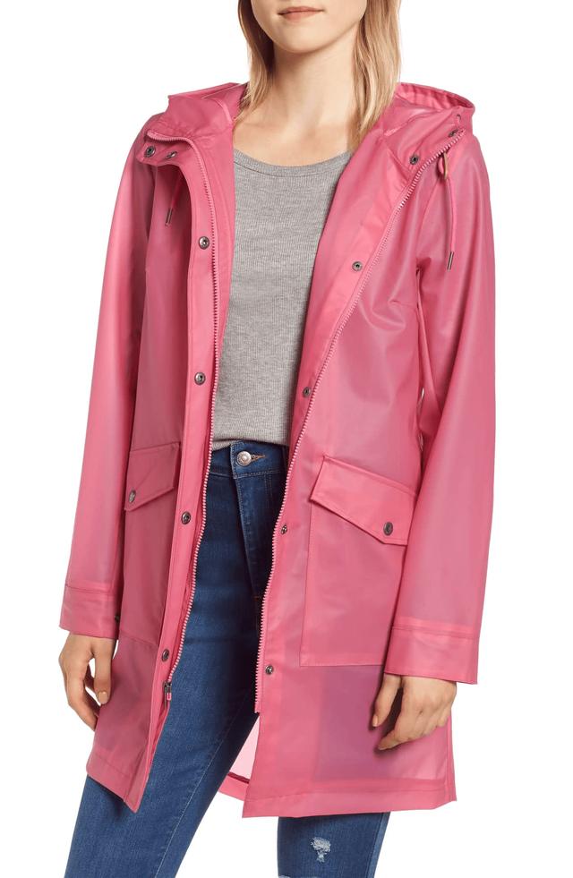 10 chiếc áo khoác màu hồng sẽ làm bừng sáng mùa đông - Ảnh 9.