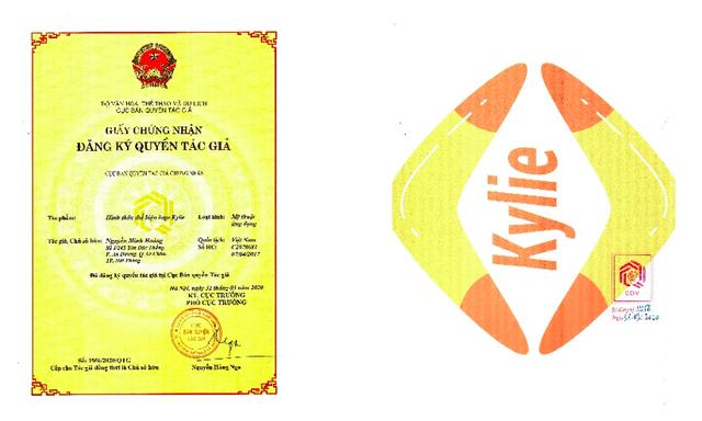 Tuyên bố quyền sở hữu đối với logo Kylie - Ảnh 1.