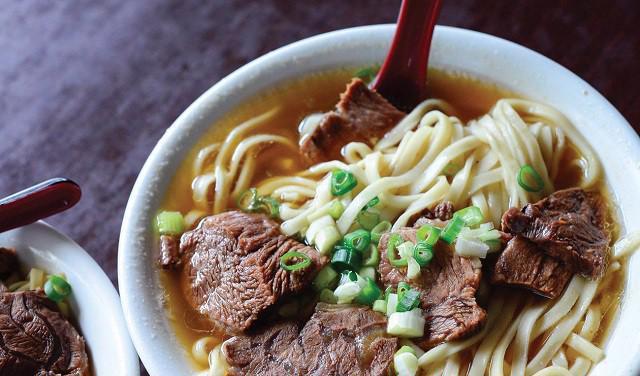 Món mỳ bò tạo nên bản đồ ẩm thực Đài Loan - Ảnh 1.