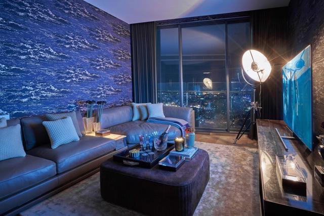 Căn hộ penthouse xa xỉ nhìn ra sông Sài Gòn - Ảnh 7.