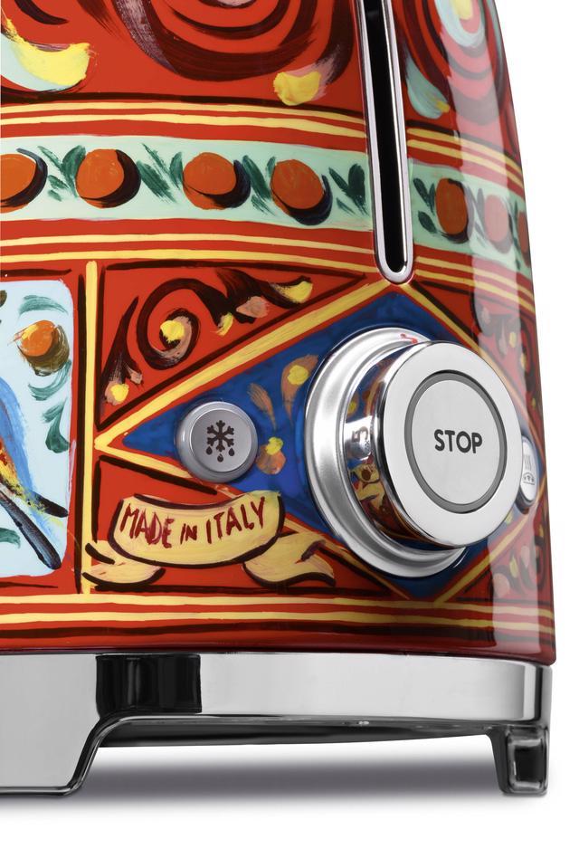BST thiết bị nhà bếp của Smeg và Dolce&Gabbana đã về đến châu Á - Ảnh 8.