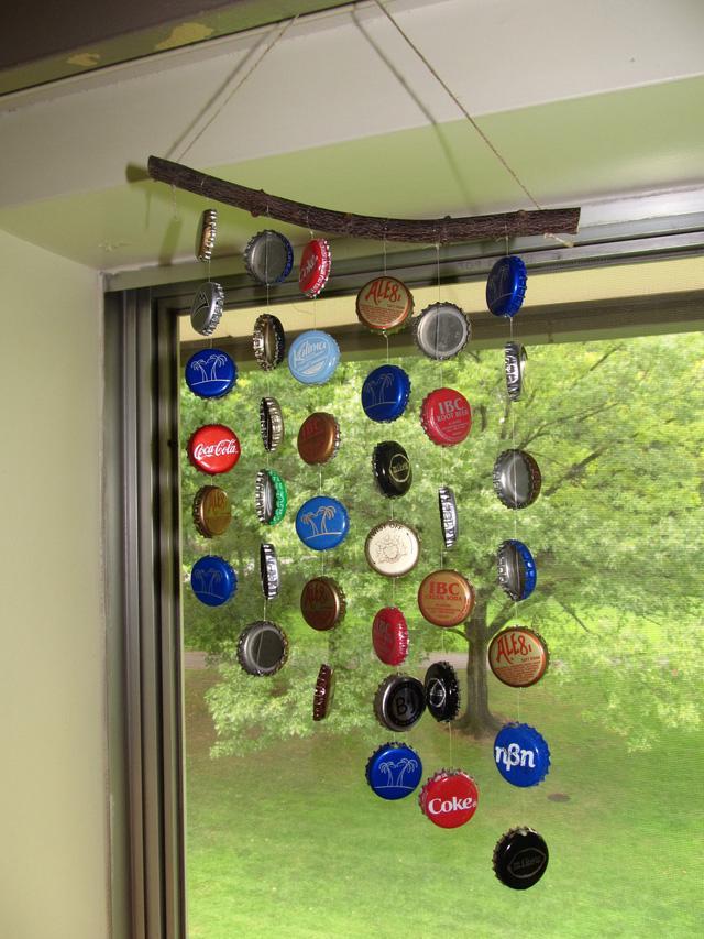 Tự làm chuông gió từ vật liệu tái chế cho mùa hè thêm mát rượi - Ảnh 6.