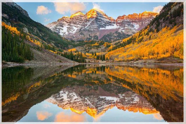 Ngắm mùa thu kỳ diệu trên đỉnh Rocky Mountain - Ảnh 4.