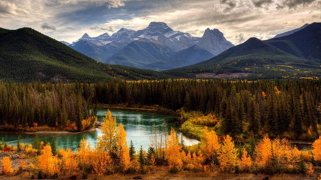 Ngắm mùa thu kỳ diệu trên đỉnh Rocky Mountain - Ảnh 7.