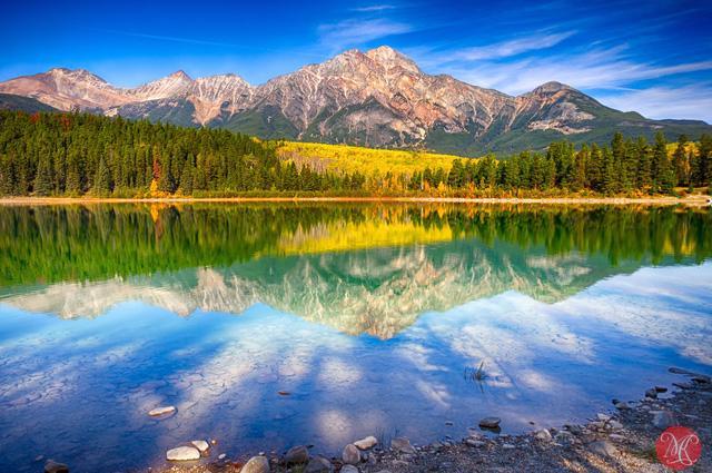 Ngắm mùa thu kỳ diệu trên đỉnh Rocky Mountain - Ảnh 5.