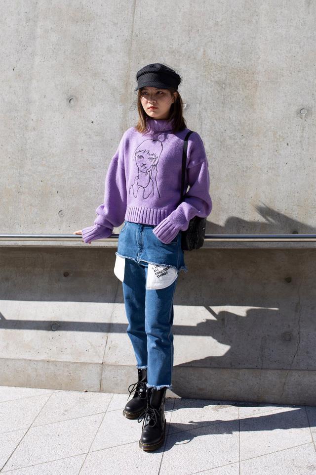 Seoul Fashion Week và sự trở lại của chiếc mũ baker boy - Ảnh 12.