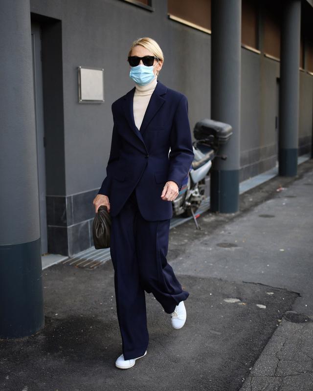 Street style tại các tuần lễ thời trang: suits vẫn phủ sóng - Ảnh 3.