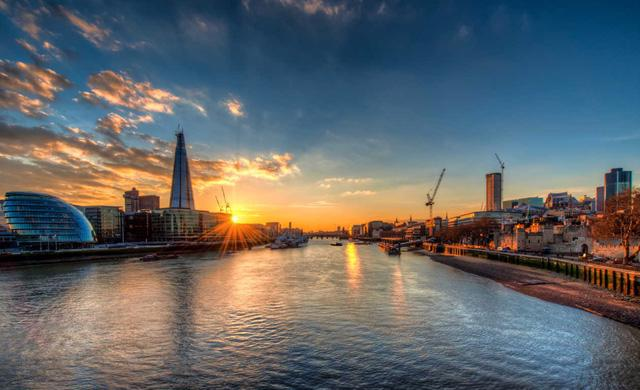 Ngắm London từ hai bờ sông Thames - Ảnh 1.