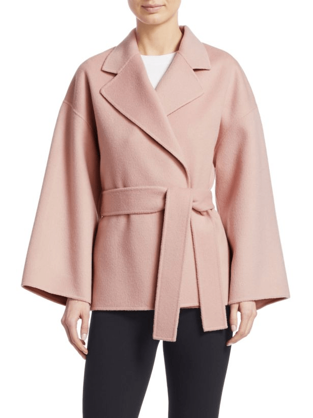 10 chiếc áo khoác màu hồng sẽ làm bừng sáng mùa đông - Ảnh 13.