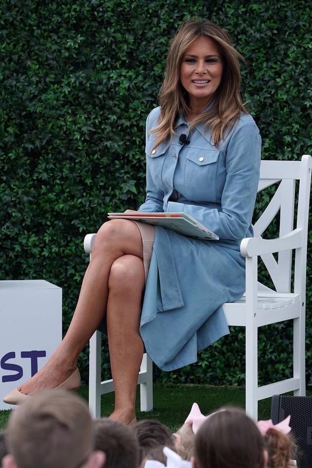 Melania Trump: đệ nhất phu nhân có gu thời trang sành điệu - Ảnh 3.