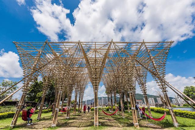 Macao: tiềm năng của tre trong kiến trúc sinh thái - Ảnh 3.