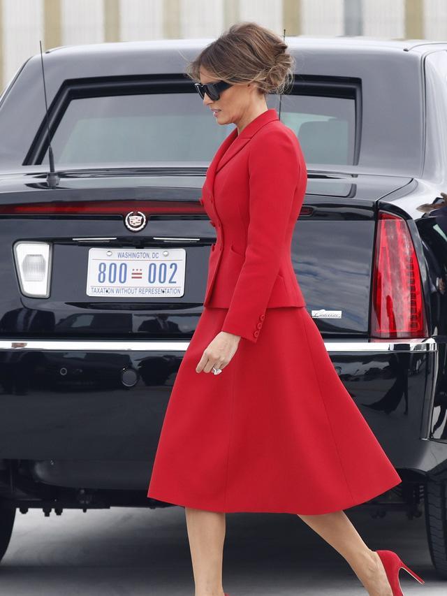 Melania Trump: đệ nhất phu nhân có gu thời trang sành điệu - Ảnh 4.