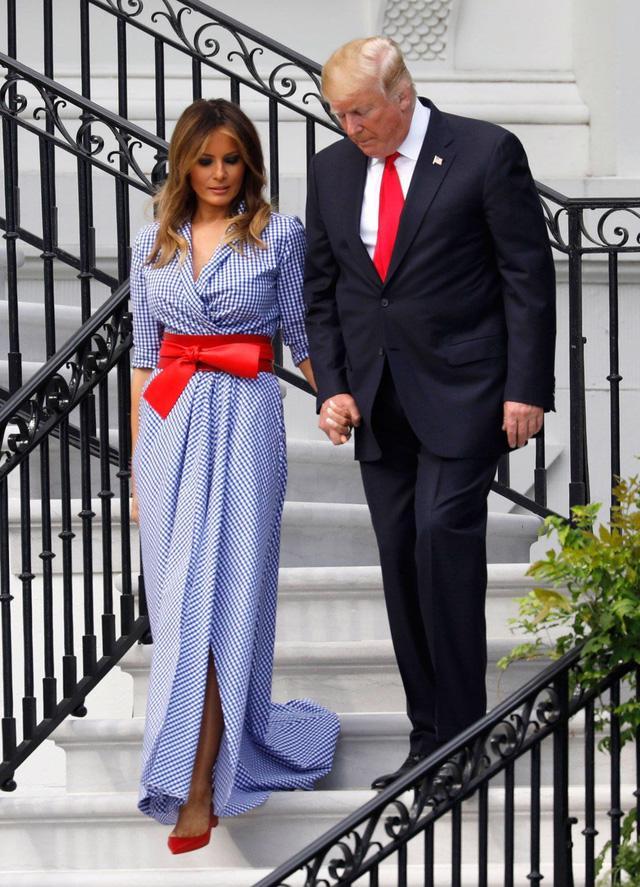 Melania Trump: đệ nhất phu nhân có gu thời trang sành điệu - Ảnh 6.
