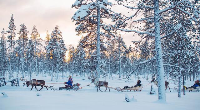 Lapland: nơi lý tưởng nhất để đón Giáng sinh tuyết trắng - Ảnh 1.