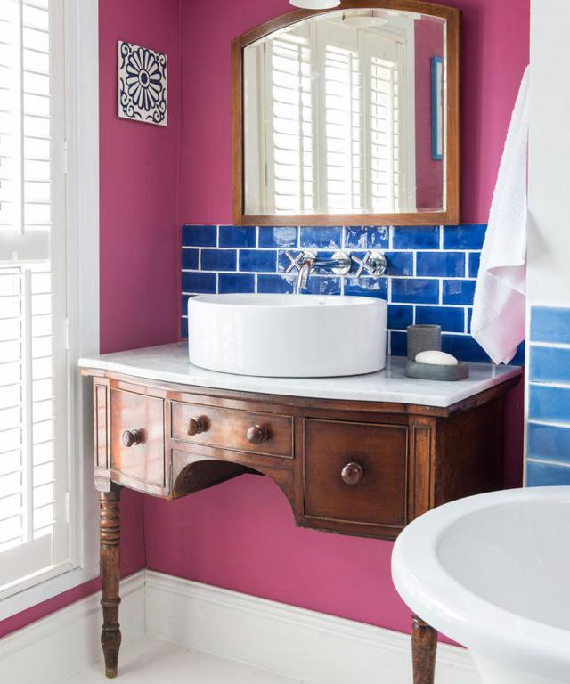 6 ghi nhớ nếu bạn muốn tái sử dụng đồ nội thất cũ cho phòng tắm - Ảnh 3.