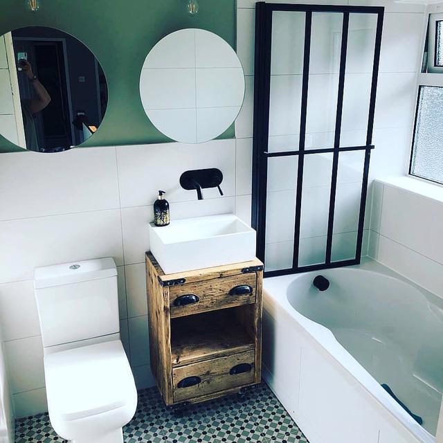 6 ghi nhớ nếu bạn muốn tái sử dụng đồ nội thất cũ cho phòng tắm - Ảnh 7.