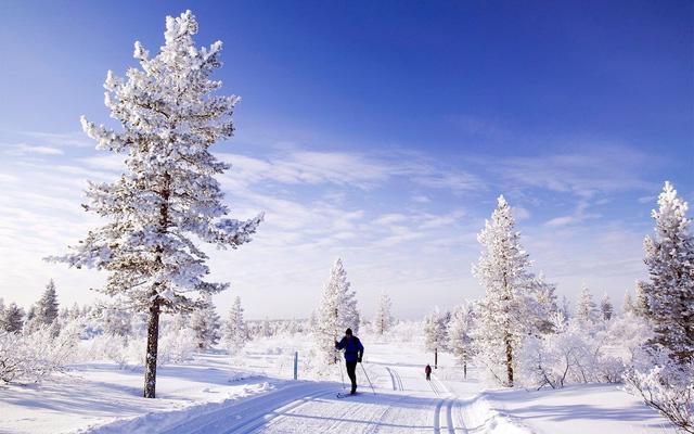 Lapland: nơi lý tưởng nhất để đón Giáng sinh tuyết trắng - Ảnh 3.
