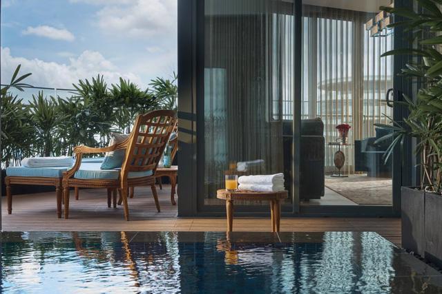 Căn hộ penthouse xa xỉ nhìn ra sông Sài Gòn - Ảnh 3.