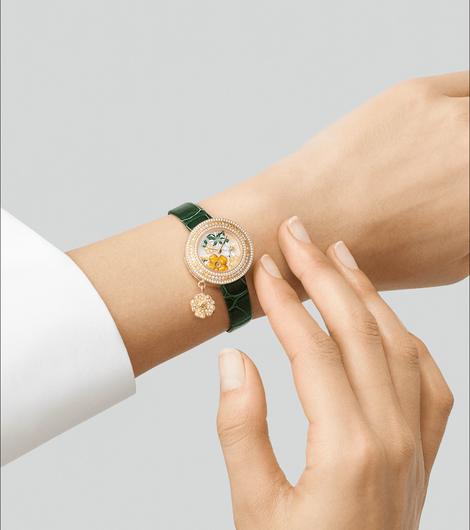 Van Cleef & Arpels: những kiệt tác đồng hồ trang sức - Ảnh 11.
