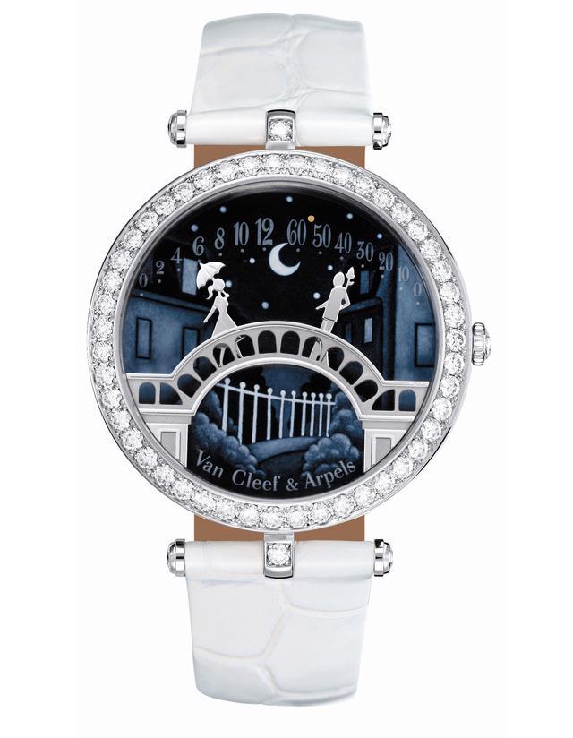 Van Cleef & Arpels: những kiệt tác đồng hồ trang sức - Ảnh 3.