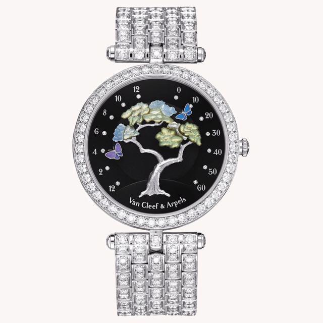 Van Cleef & Arpels: những kiệt tác đồng hồ trang sức - Ảnh 4.