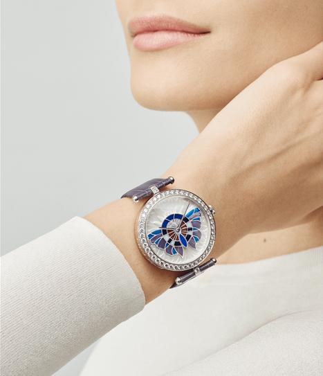 Van Cleef & Arpels: những kiệt tác đồng hồ trang sức - Ảnh 12.