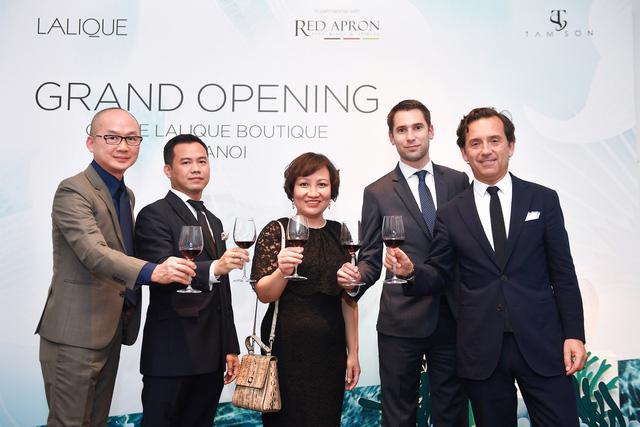 Lalique – thương hiệu pha lê cao cấp chính thức ra mắt tại Hà Nội - Ảnh 1.