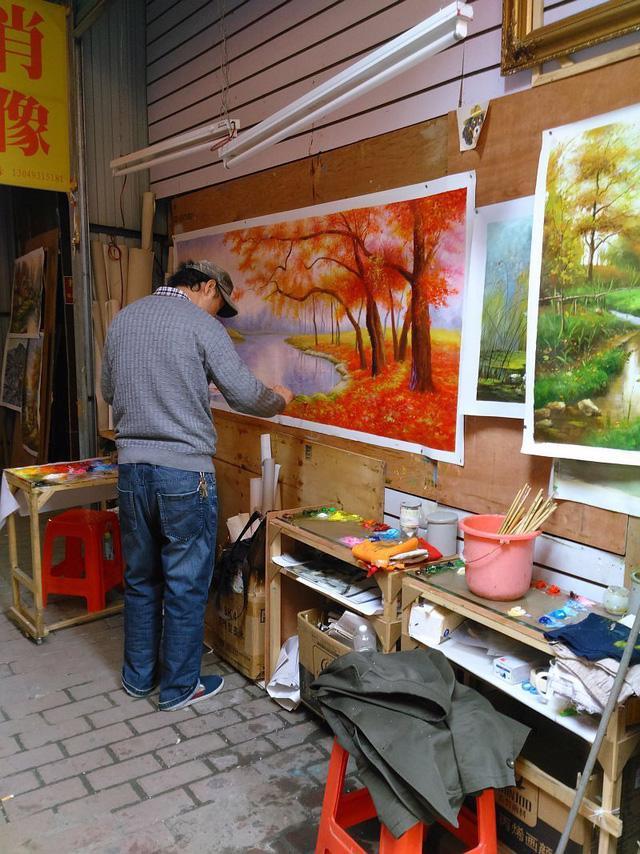 Có một đại công xưởng sao chép tranh tại Trung Quốc - Ảnh 5.