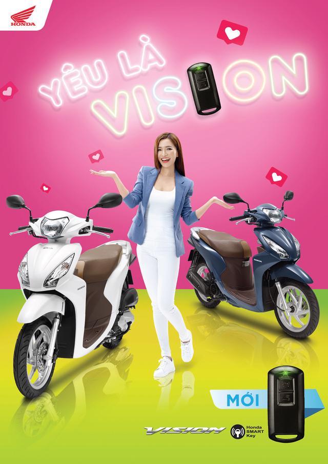 Honda Việt Nam giới thiệu xe ga Vision mới tích hợp smartkey - Ảnh 1.