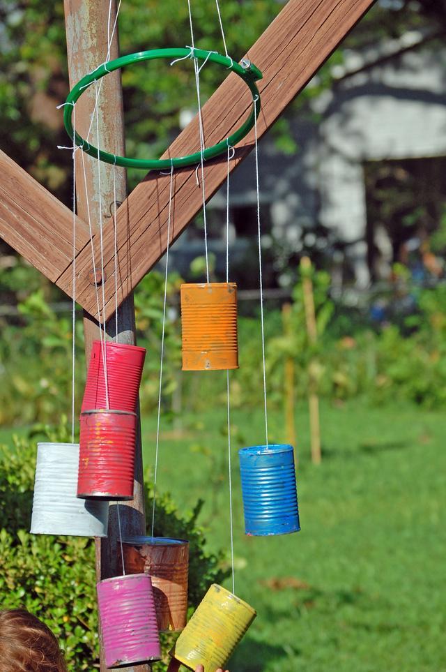 Tự làm chuông gió từ vật liệu tái chế cho mùa hè thêm mát rượi - Ảnh 9.