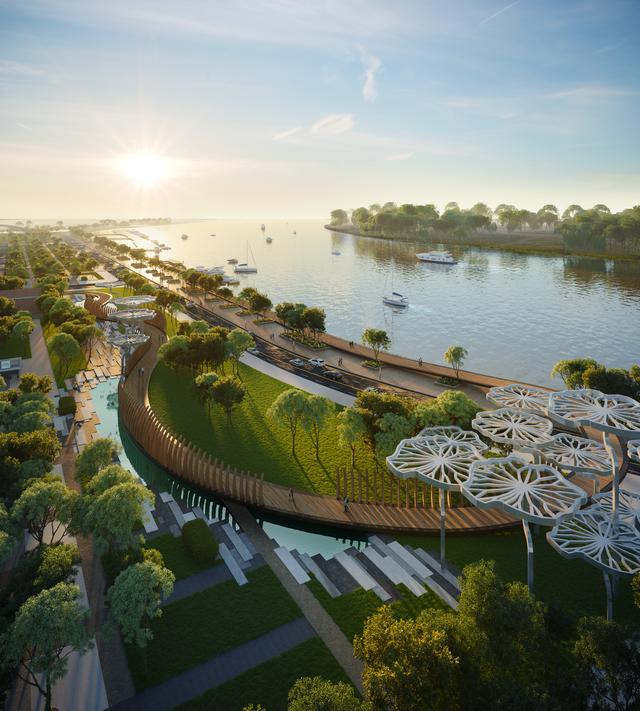 Sắp xuất hiện quảng trường mới của Sài Gòn - Grand Marina ngay bờ sông quận 1 - Ảnh 2.