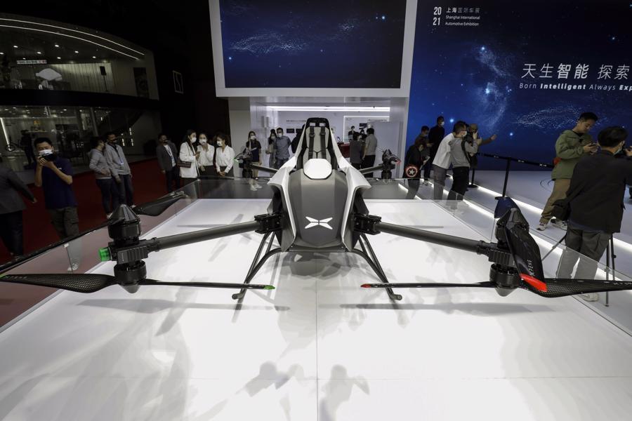 """Xe điện """"chiếm sóng"""" Triển lãm Ôtô Thượng Hải 2021 - Ảnh 12."""