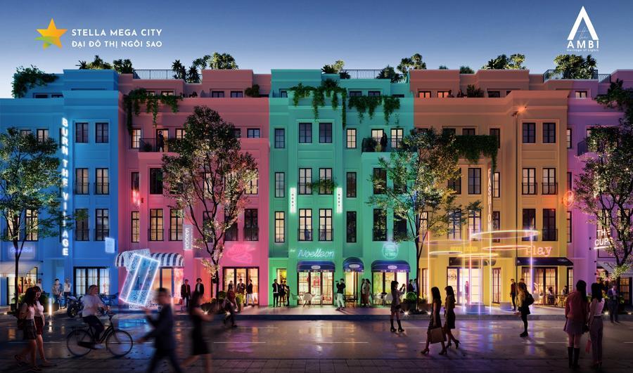 Giới thiệu phân khu The Ambi đại đô thị Stella Mega City - Ảnh 1.