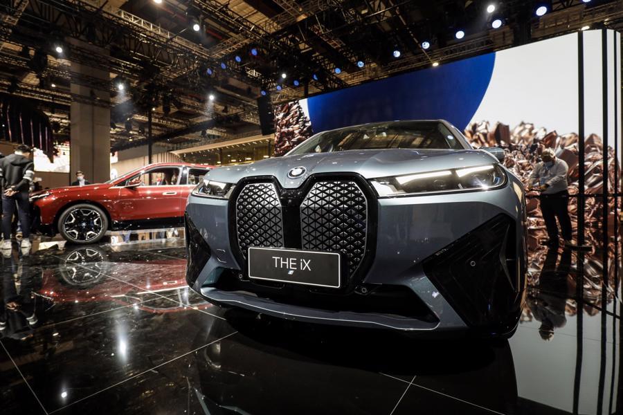 """Xe điện """"chiếm sóng"""" Triển lãm Ôtô Thượng Hải 2021 - Ảnh 3."""