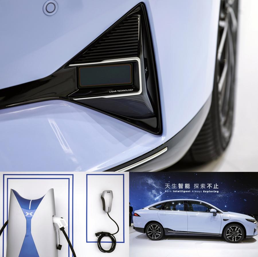 """Xe điện """"chiếm sóng"""" Triển lãm Ôtô Thượng Hải 2021 - Ảnh 5."""