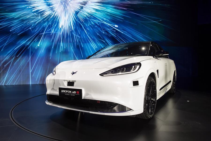 """Xe điện """"chiếm sóng"""" Triển lãm Ôtô Thượng Hải 2021 - Ảnh 6."""