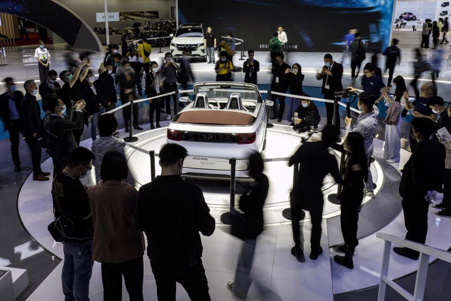 """Xe điện """"chiếm sóng"""" Triển lãm Ôtô Thượng Hải 2021 - Ảnh 7."""