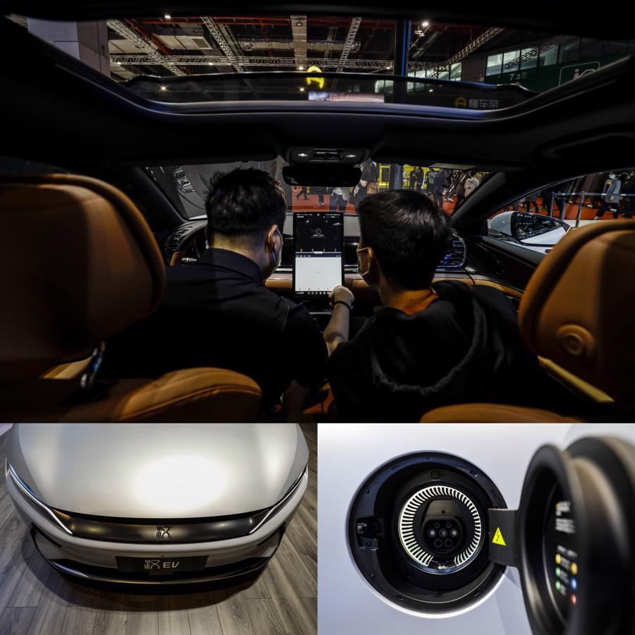 """Xe điện """"chiếm sóng"""" Triển lãm Ôtô Thượng Hải 2021 - Ảnh 9."""