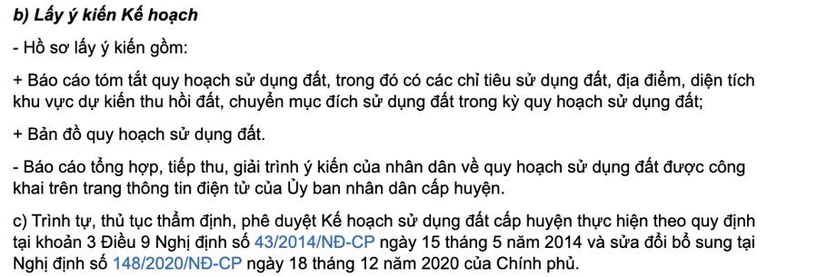 Hà Nội: Kế hoạch sử dụng đất cấp huyện phải lấy ý kiến dân - Ảnh 2.