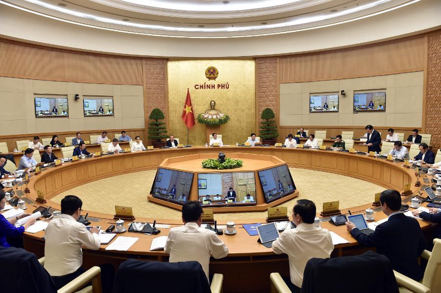 Chính phủ họp phiên đầu tiên sau khi kiện toàn nhân sự - Ảnh 7.