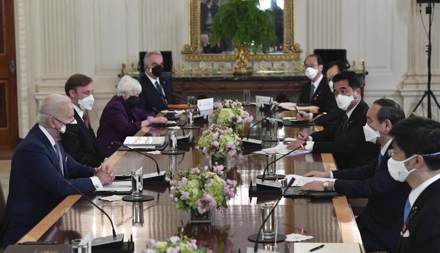 Thượng đỉnh Mỹ - Nhật: Cam kết hợp tác giải quyết thách thức từ Trung Quốc, Triều Tiên - Ảnh 2.