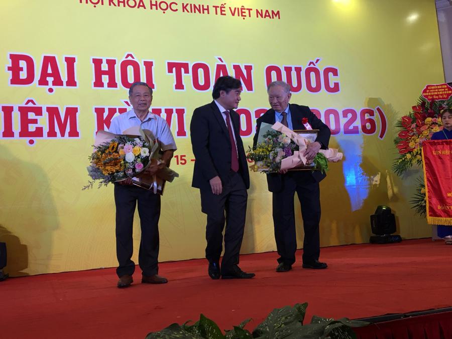 Hội Khoa học Kinh tế Việt Nam tổ chức Đại hội nhiệm kỳ VI - Ảnh 1.