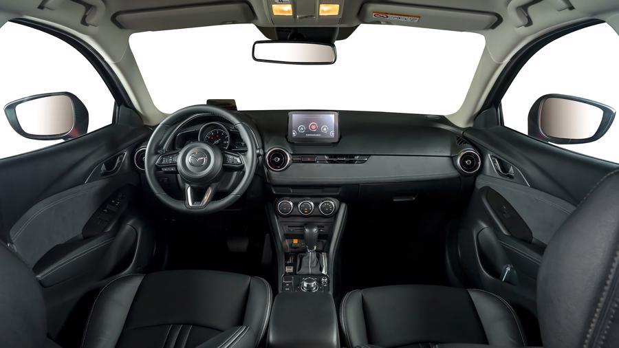 Thiết kế nội thất của mẫu xe Mazda CX-3.